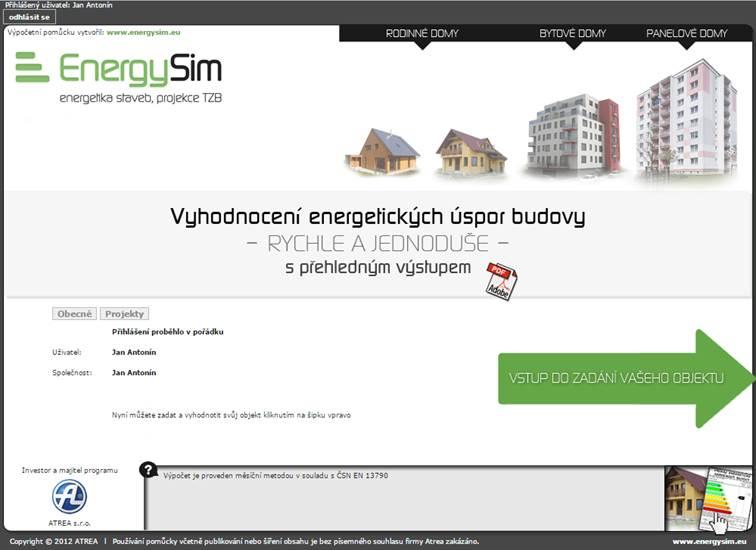 atrea energetické úspory budovy